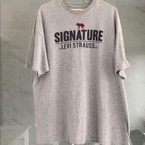 Men's Levi grey T-shirt